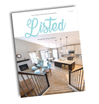 August 2019 LISTED Magazine Cover